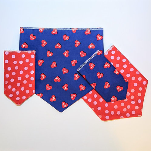 Hearts for Health Care Workers Bandana