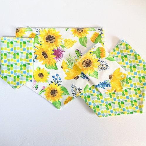 Sunflower Meadows Bandana