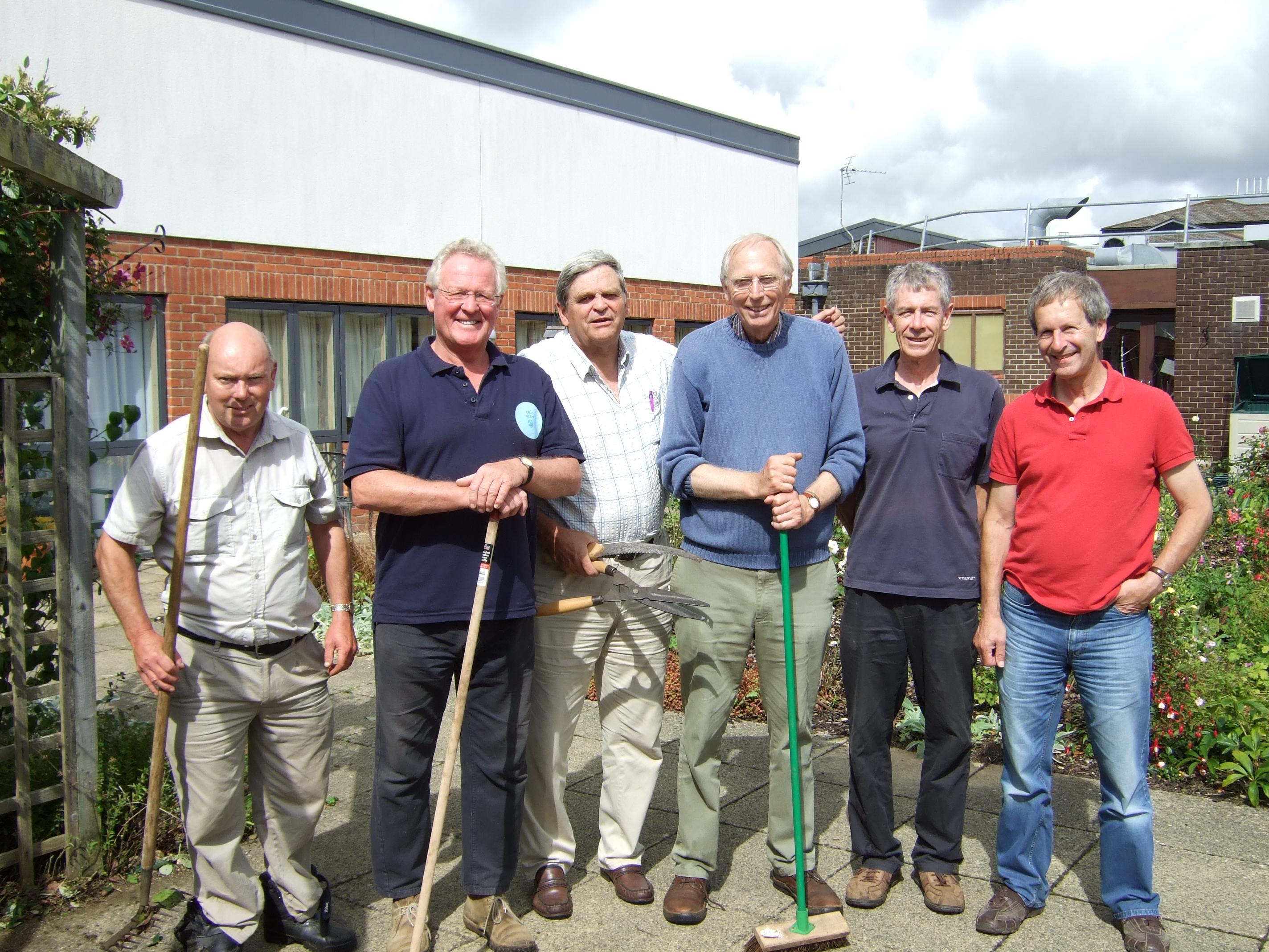 Sobell House gardeners