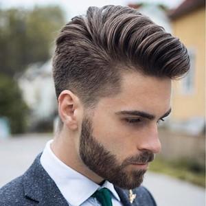 Classy Pompador Haircut