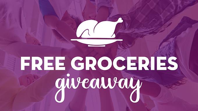 Free Groceries Giveaway