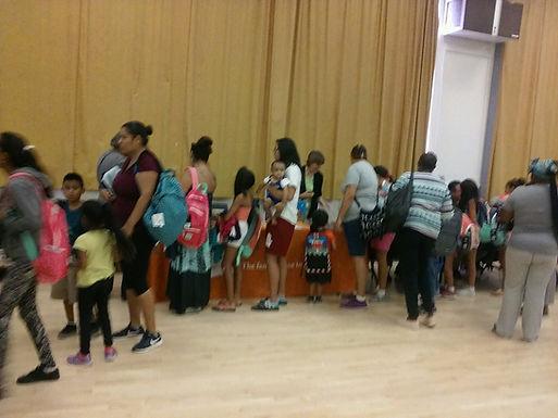 Over 1500 Backpacks Given Away!