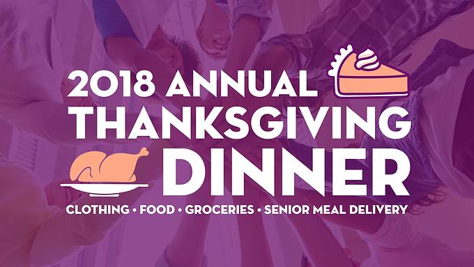 Annual Thanksgiving Dinner