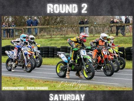 Round Two of the Supermoto N.I Winter Series gets Underway on Saturday 23rd November