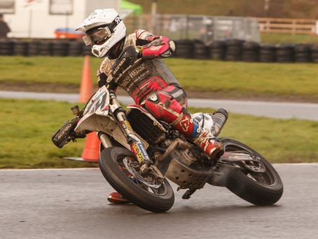 Hodgson Claims His 15th ACU British Supermoto Championship Crown