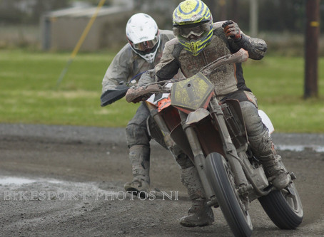 McKee Takes Round Two of the Supermoto Northern Ireland Winter Series