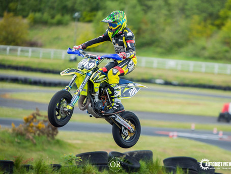 Multi British Supermoto Champion Chris Hodgson Welcomes Alex Mullaney to the Team for 2020