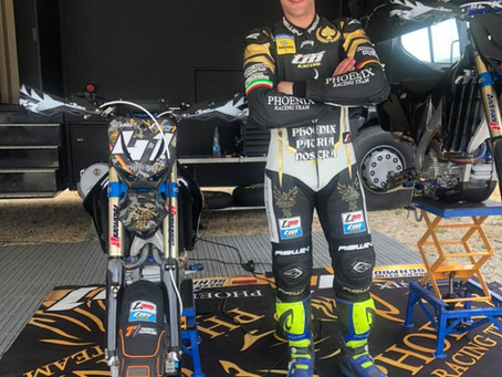 Marc-Reiner Schmidt Looking Forward to his First Visit to the ACU British Supermoto Championship