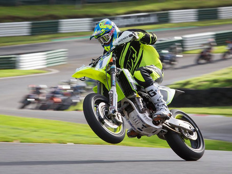 Countdown to a Thrilling Three Way Battle to the Conclusion of the British Supermoto Championship