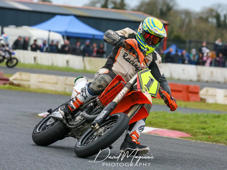 David McKee Takes the Win at the Opening Round of the Supermoto N.I Winter Series