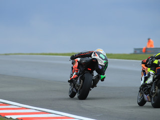 Points at Round one of the British Supersport season