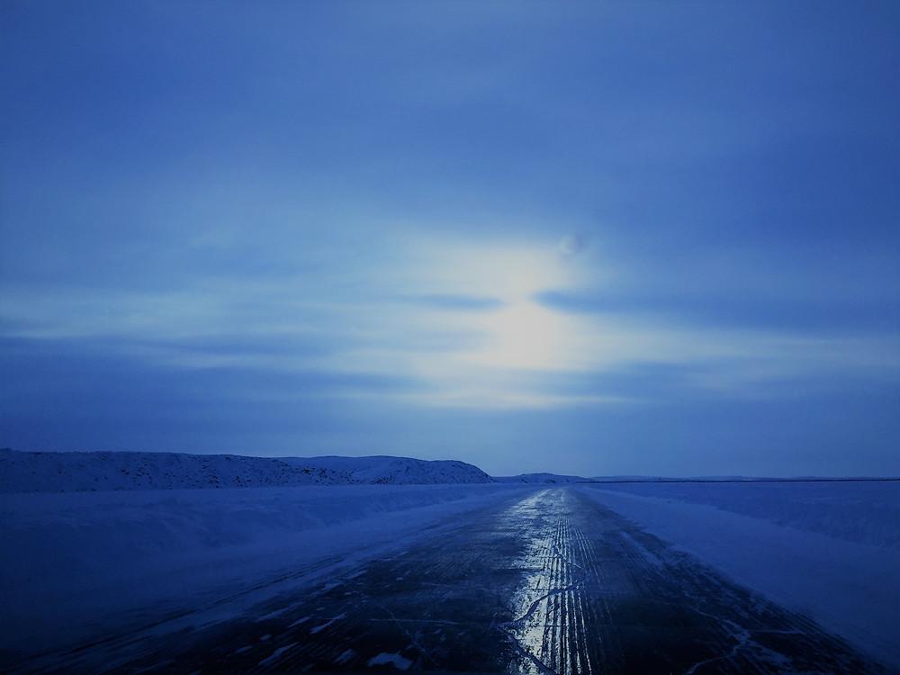 蓝色冰河大道