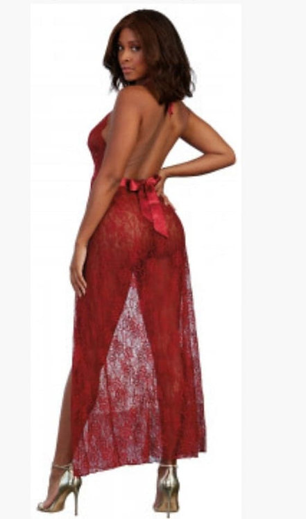 Gown, G-String