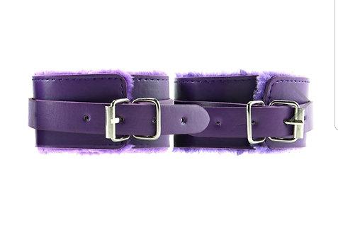 Ouch! Premium Plush Cuffs in Purple
