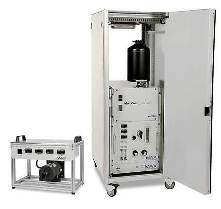 The Emission Monitoring System (EMS-10™) is a fully automated FTIR-based gas and emission monitoring system. The EMS-10 is capable of accurately analyzing many compounds simultaneously at high spectral resolution.