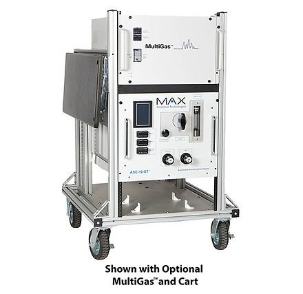 The Automated Sample Console (ASC-10™) is a gas sampling system that will heat and multiplex a sample stream, zero gas and cal gas automatically.