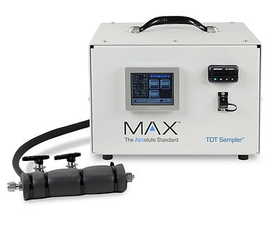 MAX Analytical Technologies has developed a standalone Thermal Desorption Tube (TDT) sampler which allows for the collection and concentration of HAPs and other compounds to be measured during engineering or compliance source tests.