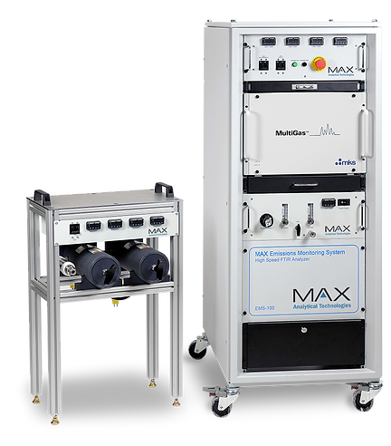 The EMS-100 is a fully integrated high speed FTIR-based combustion emission monitoring and analysis system.