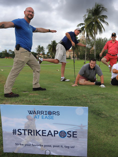 Warriors At Ease Charity Golf Tournament
