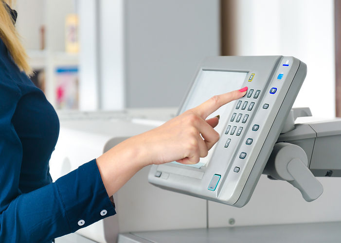 Scanner, Document Scanning, pushing button