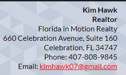 Kim Hawk Florida in Motion Realty