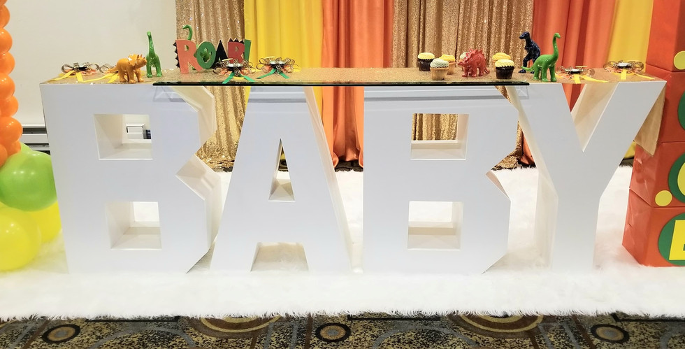 Baby Cake Table