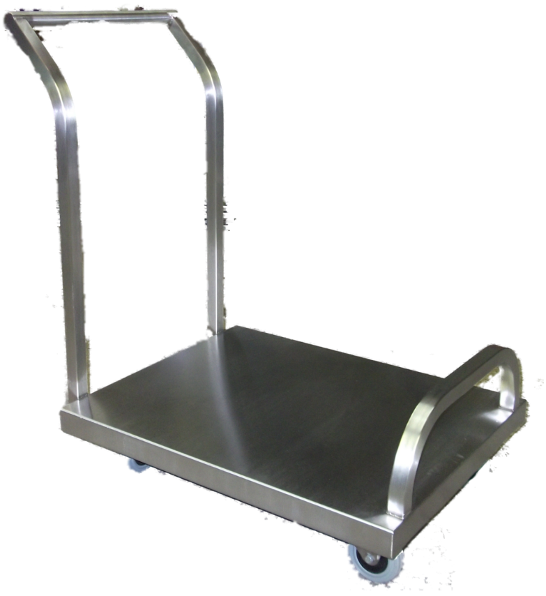 Bespoke Stainless Steel Trolley