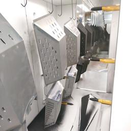 inside powder coating suffolk paintline
