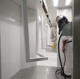 powder coating suffolk paintline