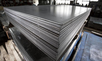 Pile of sheet metal