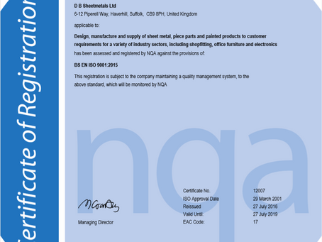 Fully Qualified: New ISO Accredited Certificate
