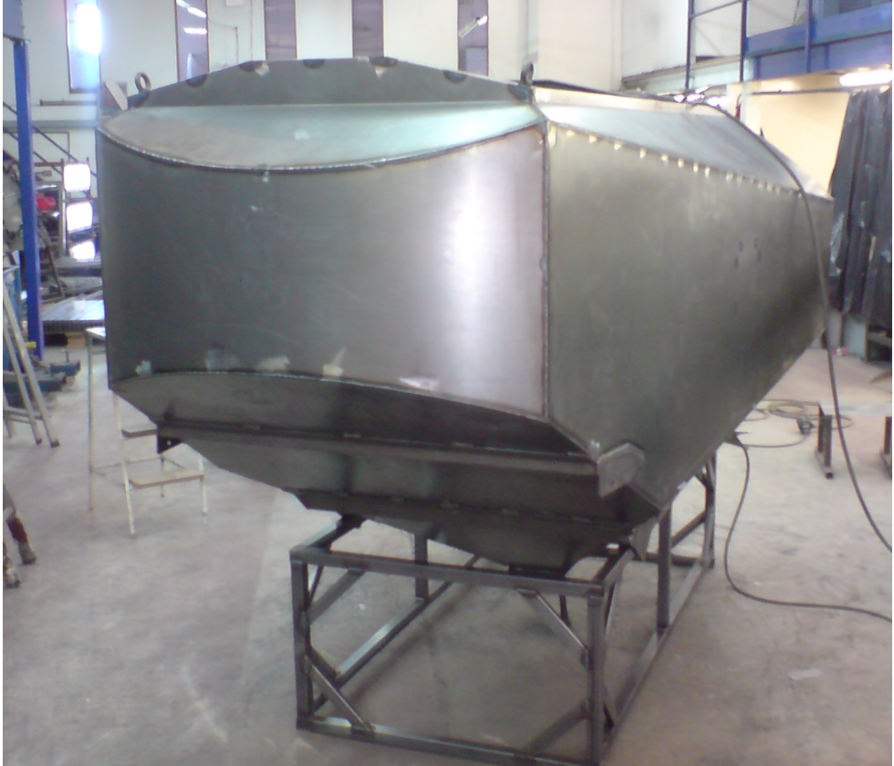 Mild Steel Constructed Seed Hopper