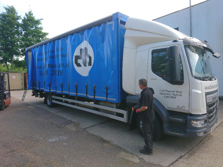 Bespoke Lorry Delivery DB Sheetmetals