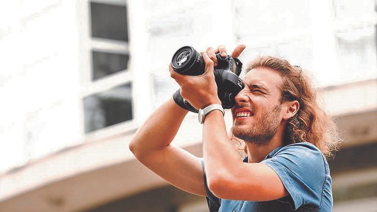Fotografieren mit der digitalen Kamera