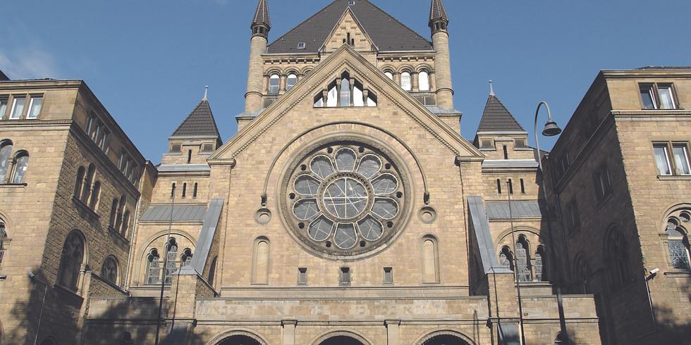 ABGESAGT! Exklusive Führung: Die jüdische Synagoge
