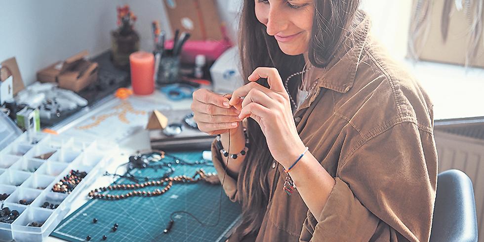Schmuck selbst herstellen - All in  - Kette, Armband & Ohrhänger