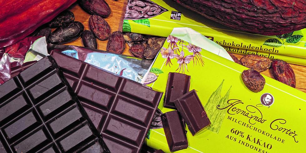 Schokoladenverkostung