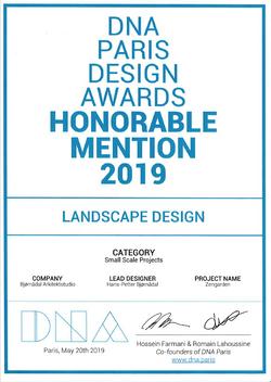 Award- DNA Paris