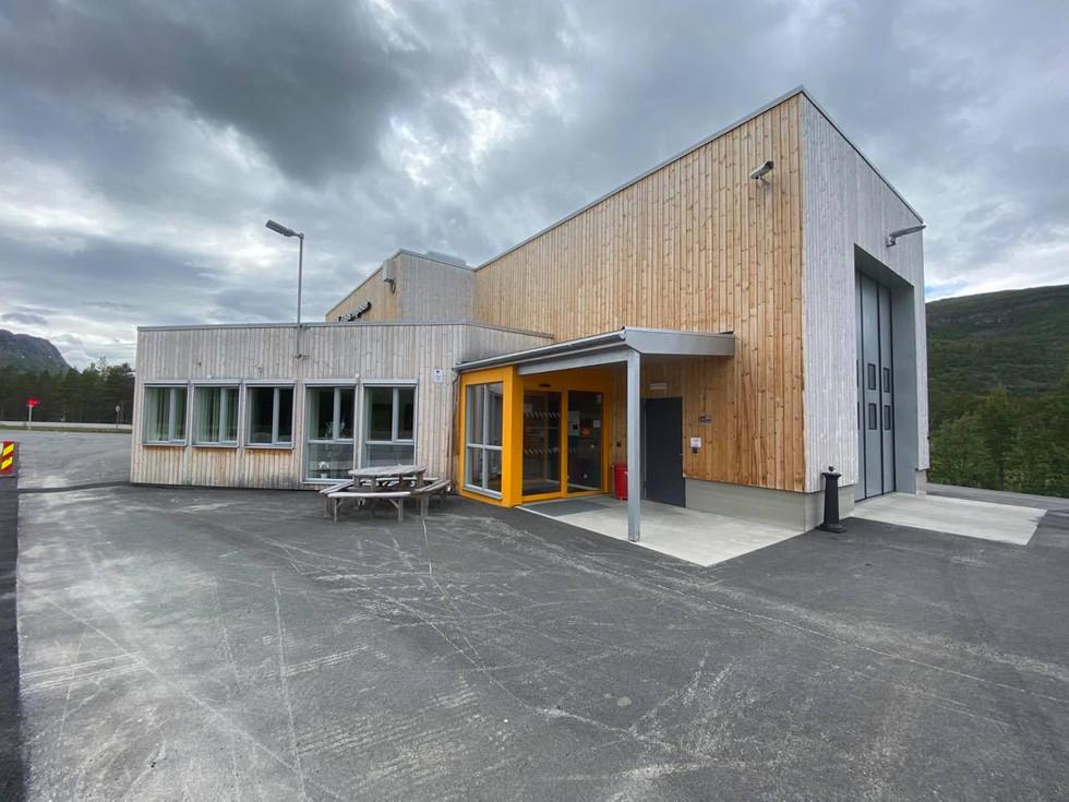 Kontrollstasjon - Kvernvikmoen