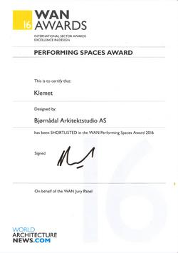 WAN Award