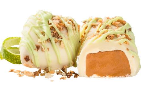 White Lime 'N Coconut Caramel