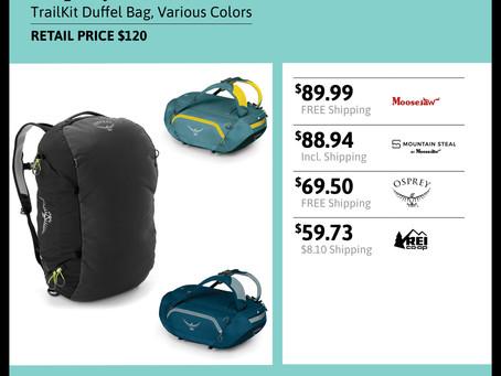 Osprey 40L TrailKit Duffel Bag