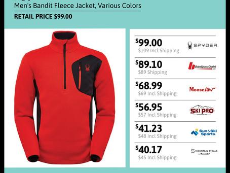 Spyder Men's Bandit Fleece Jacket