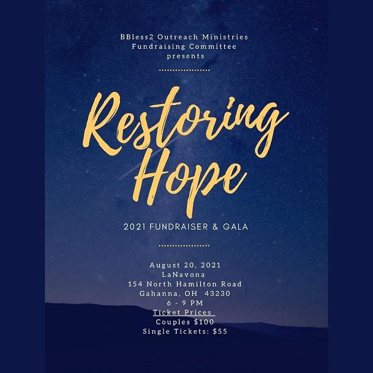 Third Annual Restoring Hope Fundraiser Gala 2021
