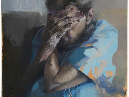 """ד""""ר שחר מרנין-דיסטלפלד  ביקור בתערוכה """"כגוף אחת""""  לאמנית רחל נמש"""