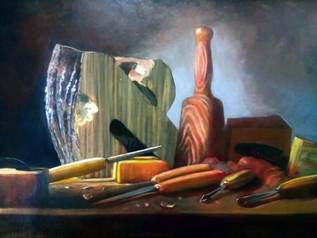 דויד לואיס | שלוש יצירות על שמן