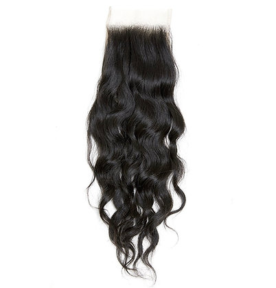 """RAW INDIAN OR CAMBODIAN CLOSURE 16"""""""