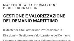 MASTER DI ALTA FORMAZIONE SUL DEMANIO MARITTIMO