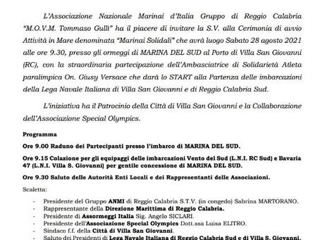 SABATO 28 AGOSTO A VILLA SAN GIOVANNI E CORIGLIANO ASSORMEGGI ITALIA IMPEGNATA SUL SOCIALE