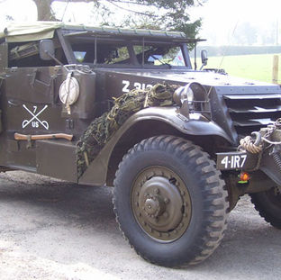 1942 White Scout Car owned by Nicholas Smallwood
